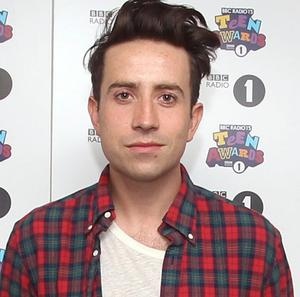 Nick Grimshaw took over the Radio 1 breakfast show from Chris Moyles last year