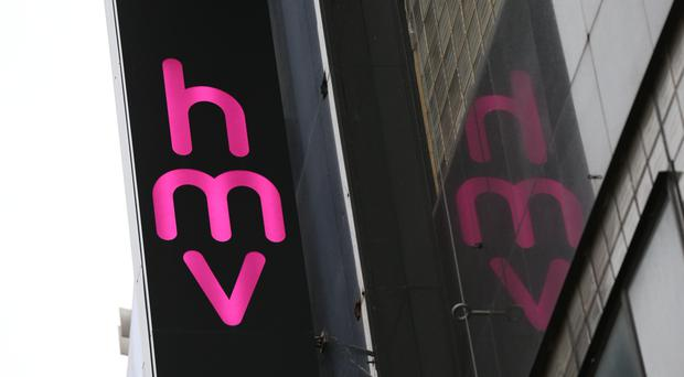 HMV has confirmed five stores at risk of closing will now remain open (Jonathan Brady/PA)