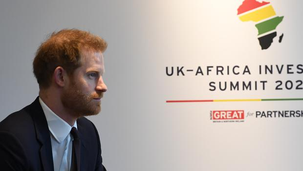 Harry attended the UK-Africa Investment Summit (Stefan Rousseau/PA)