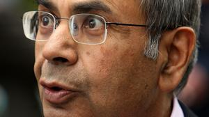 Gopichand Hinduja is facing legal action from his older brother Srichand over the family's vast assets (Dominic Lipinski/PA)