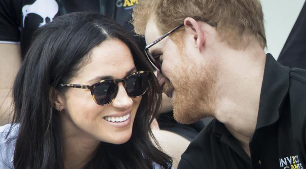 The Duke and Duchess of Sussex attended the Invictius Games together in Canada in 2017 before their wedding (Danny Lawson/PA)