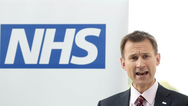 Jeremy Hunt spent more time in the post of health secretary than anyone else (PA)