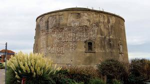 Martello Tower E in Clacton-on-Sea in Essex is to be repaired following a grant from Historic England (Steve Daniels/PA)