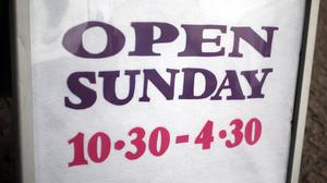 The Government is pressing ahead with plans to allow councils to extend Sunday trading hours by the autumn