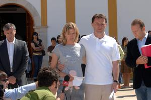 Kate and Gerry McCann in 2007 (Steve Parsons/PA)