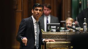 Chancellor Rishi Sunak said the UK would need to confront 'tough decisions' after the coronavirus pandemic (UK Parliament/Jessica Taylor)