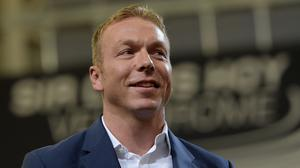 Sir Chris Hoy's son has been born two months early