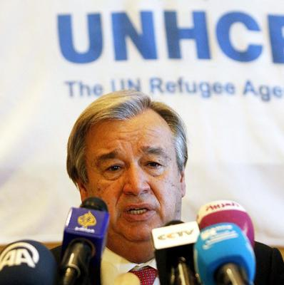 UN High Commissioner for Refugees Antonio Guterres warned MPs that the Government's Immigration Bill could stigmatise genuine refugees.