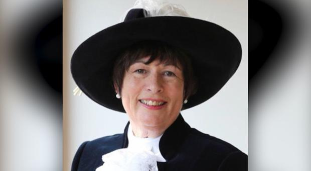 Former High Sheriff of Derbyshire Annie Hall died in floodwaters near Darley Dale (Derbyshire Police/PA)
