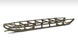 The 11ft sledge from Shackleton's British Antarctic Expedition (Bonhams/ PA)