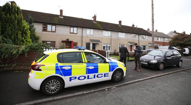 The property in Graham Road in Widnes where the 44-year-old woman died (Peter Byrne/PA)