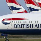 British Airways has suspended all flights to and from mainland China following Foreign Office advice over the coronavirus (Steve Parsons/PA)