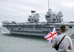 The HMS Queen Elizabeth's first operational mission will take in the Pacific region (Steve Parsons/PA)