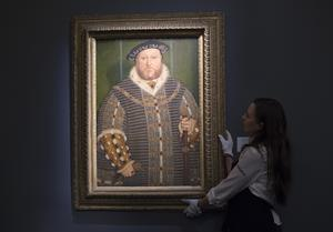 Portrait of Henry VIII by Holbein (Lauren Hurley/PA)