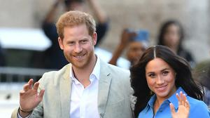 Harry was offended by William's words of caution about the speed his relationship was progressing, according to a new book (Dominic Lipinski/PA)