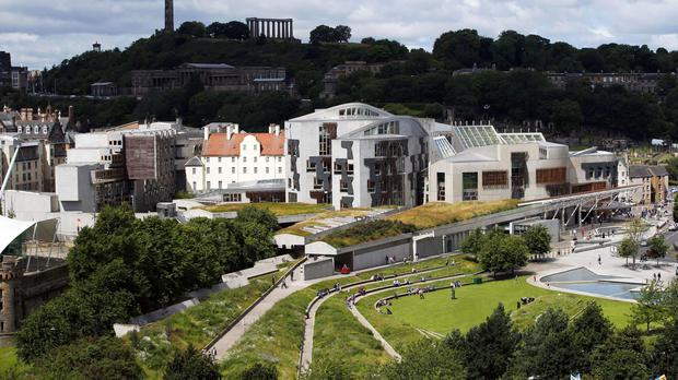 The Scottish Parliament election takes place on Thursday May 6 (Jane Barlow/PA)