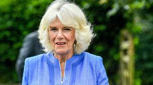 The Duchess of Cornwall at the Oxenwood Outdoor Education Centre near Marlborough, Wiltshire (Ben Birchall/PA)
