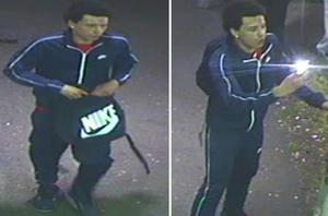 Police would like to speak to the three man captured on CCTV (BTP)
