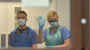 Medics in Scotland wrote a letter to the Scottish Government last week expressing concerns over PPE (Jacob King/PA)