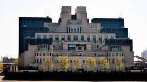 General view of the Secret Intelligence Service building at Vauxhall, London (Nick Ansell/PA)