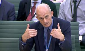 Philp Rycroft was the permanent secretary at the Department for Exiting the European Union. (PA/PA Archive)