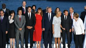 US President Donald Trump has suggested the G7 meeting could take place face-to-face in June (Andrew Parsons/PA)