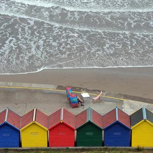 The beach in Whitby, North Yorkshire, is among 55 UK beaches that have received Blue Flag awards for 2013