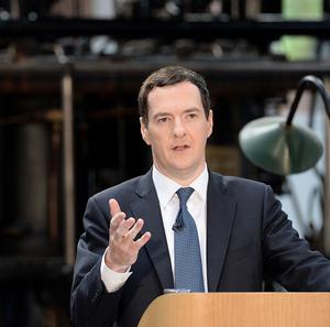 Chancellor George Osborne said the OBR report showed the Government's economic plan was working