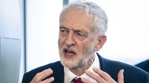 Jeremy Corbyn said the Labour Party will not be held to ransom (Danny Lawson/PA)