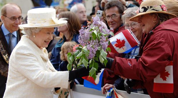The Queen has visited Canada more than 20 times (Fiona Hanson/PA)