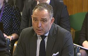 Sir Mark Sedwill says the minister has the PM's support (Parliament TV/PA)