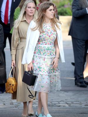 Princess Beatrice joined the Queen and other royals at the annual show (Chris Jackson/PA)