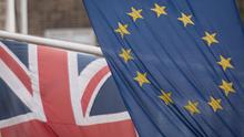 The EU and Union flags (Stefan Rousseau/PA)