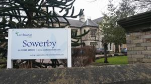 The care home in Sowerby near Thirsk where a man in his 80s has died