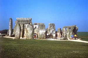 Stonehenge in Wiltshire in 1968 (PA)