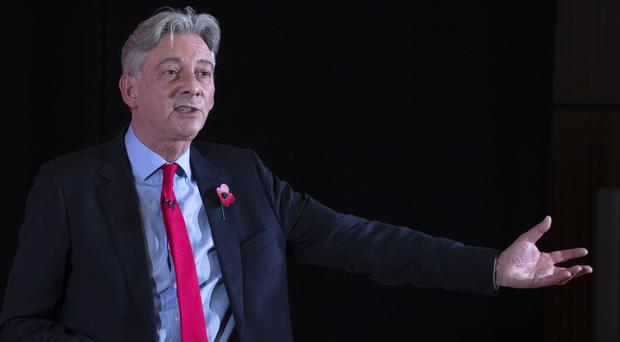 Richard Leonard spoke at Maryhill Burgh Halls, Glasgow, at the official launch of Scottish Labour's General Election campaign (Jane Barlow/PA)