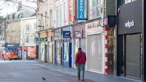 Shops have been closed for weeks due to Covid-19 (Joe Giddens/PA)