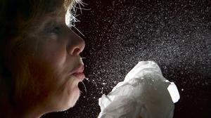 Scientists have identified nose cells as the likely initial infection point for coronavirus (David Jones/PA)
