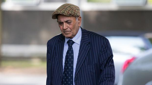 Kailash Chander arriving at court (Aaron Chown/PA)