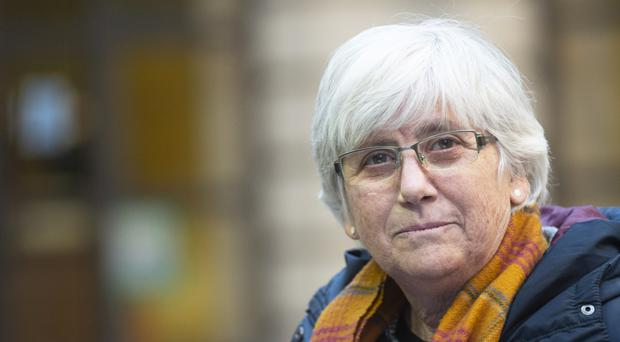 Former Catalan politician and University of St Andrews professor Clara Ponsati (Lesley Martin/PA)