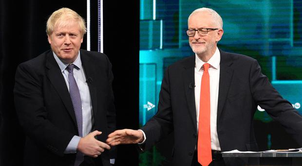 Boris Johnson and Jeremy Corbyn continue their campaigning around the country with just days to go (ITV/PA)