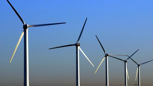 Prime Minister Boris Johnson is visiting a windfarm off the Aberdeenshire coast (Phil Noble/PA)