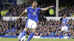 Everton's Darron Gibson has been charged with drink-driving