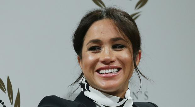 The Duchess of Sussex, who has announced she is to launch a clothing range (Daniel Leal-Olivas/PA)