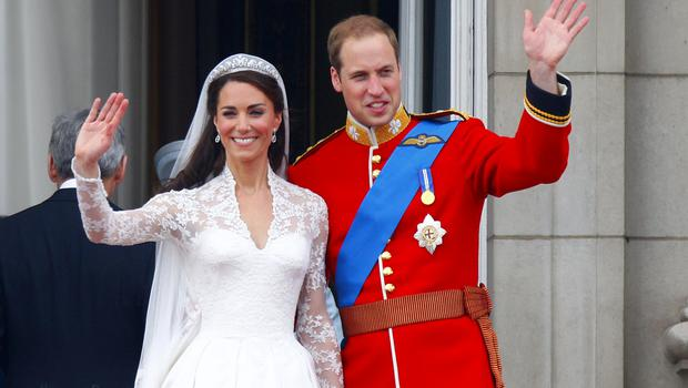 The Duke and Duchess of Cambridge on their wedding day (Chris Ison/PA)