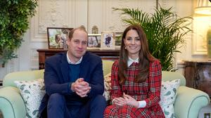 The Duke and Duchess of Cambridge have sent a message to staff at NHS Tayside thanking them for their work and wishing them well on Burns Night (Kensington Palace/NHS Tayside)