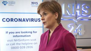 Official statistics show 2,602 people have now tested positive for the virus in Scotland (Jane Barlow/PA)