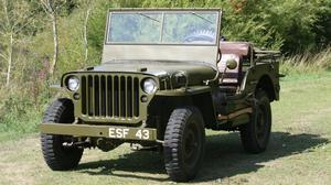 A 1944 Willys-Overland Military Jeep that was once owned by General Dwight D Eisenhower is to be sold at auction by Cheffins in Cambridgeshire (Cheffins Auctioneers/PA)