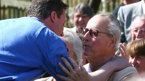 """David Cameron said his father was being """"unfairly written about"""""""