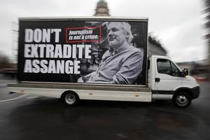 Julian Assange is fighting to avoid being sent to the US (Jonathan Brady/PA)